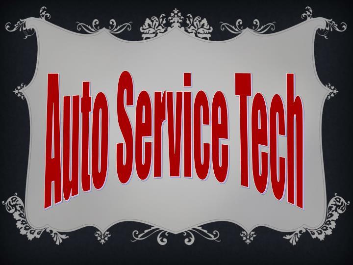 Auto Service Tech