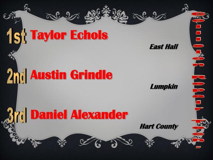 Taylor Echols