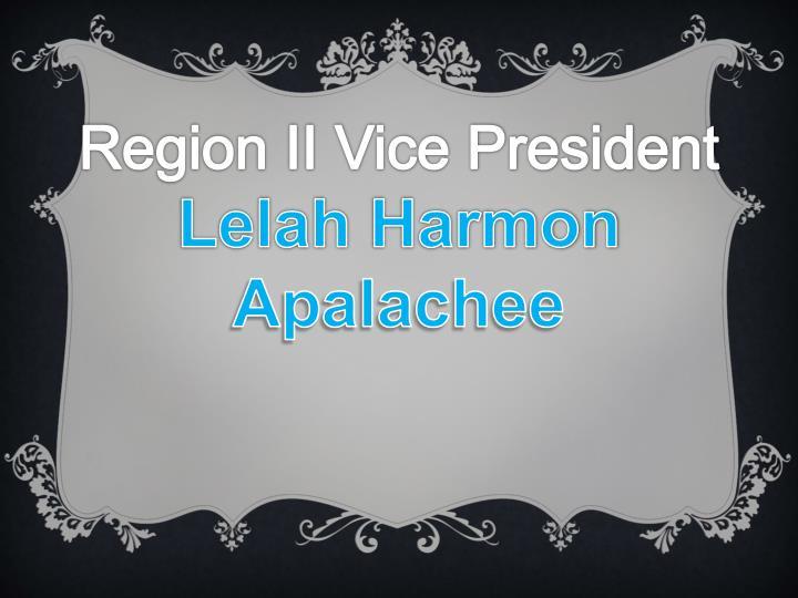 Region II Vice President