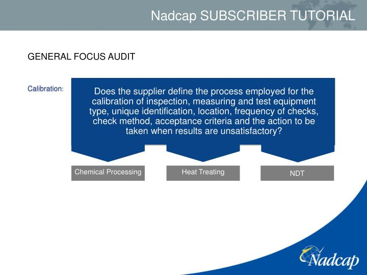 GENERAL FOCUS AUDIT