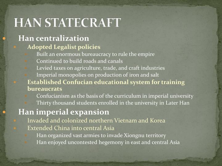HAN STATECRAFT