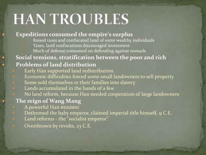 HAN TROUBLES