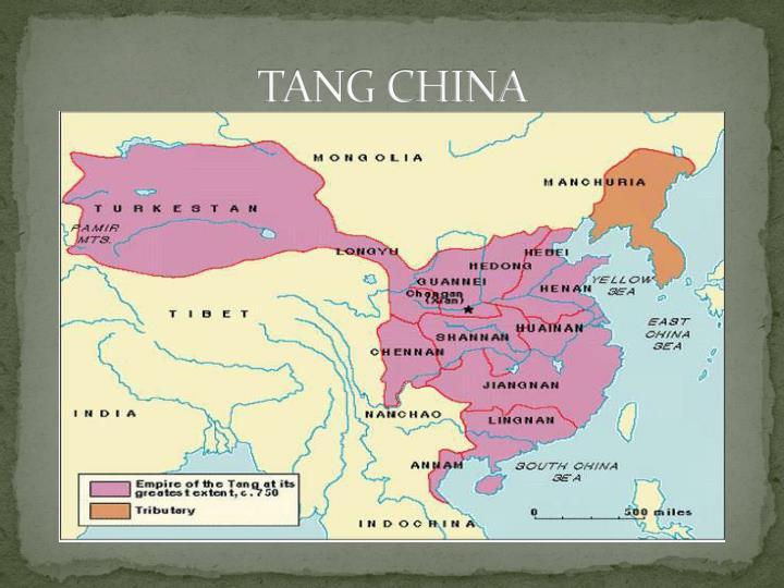 TANG CHINA
