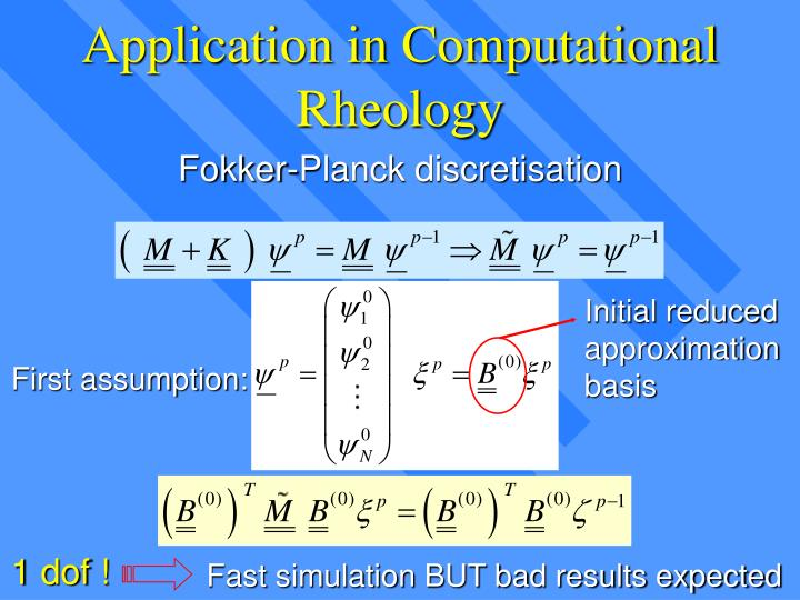 Application in Computational Rheology
