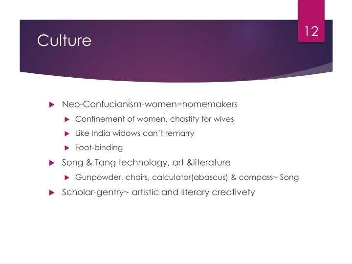 Neo-Confucianism-women=homemakers