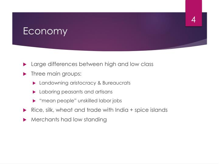 Large differences between high and low class