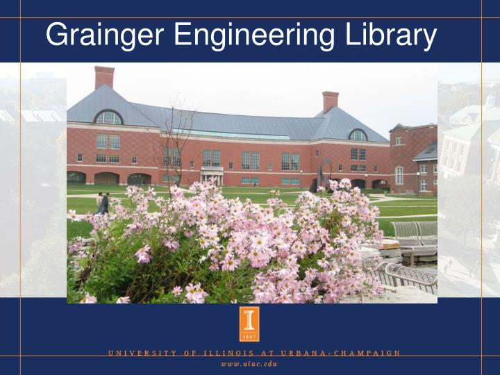 Grainger Engineering Library