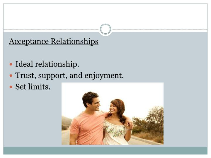 Acceptance Relationships