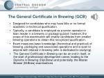 the general certificate in brewing gcb