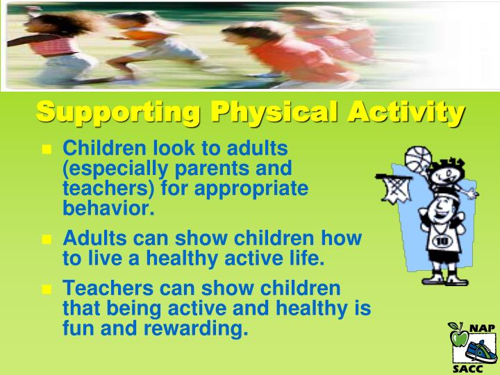 Supporting Physical Activity