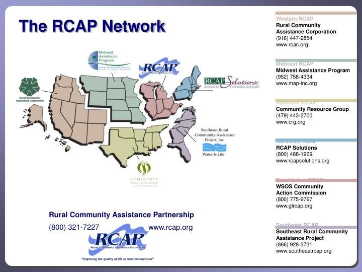 The RCAP Network