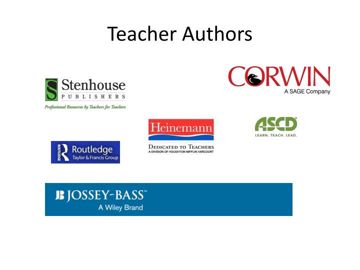 Teacher Authors