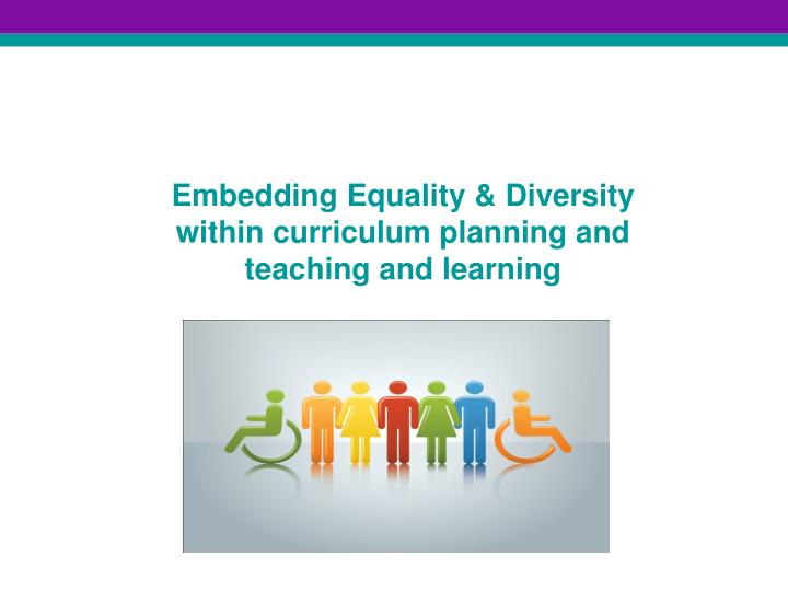 essay on equality and diversity