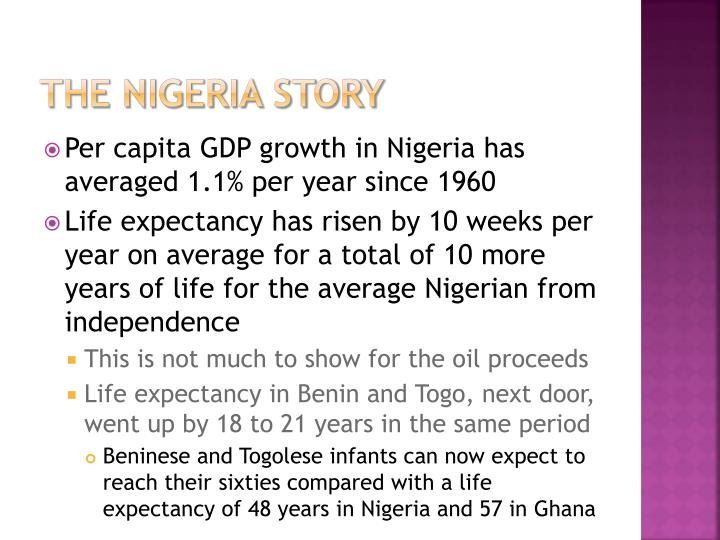 The nigeria story