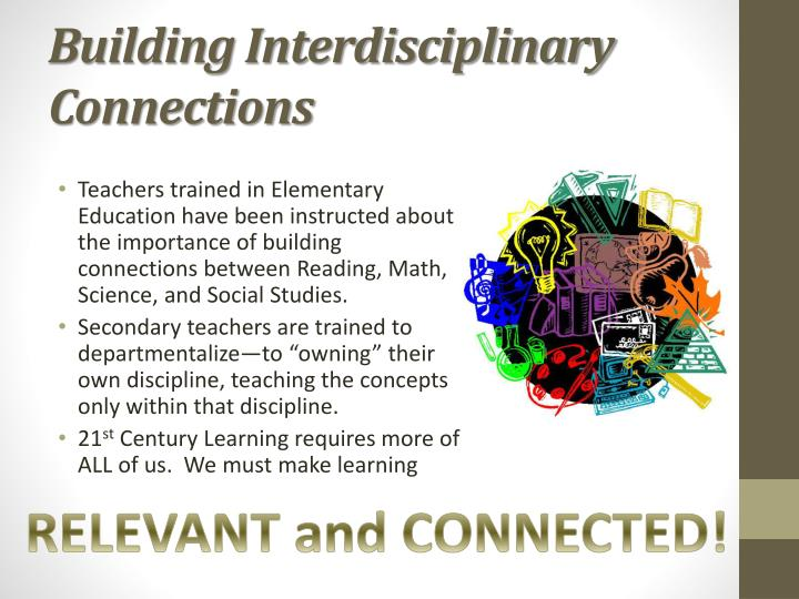 Building Interdisciplinary Connections