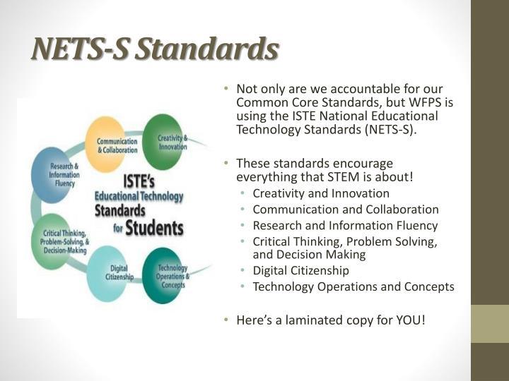 NETS-S Standards