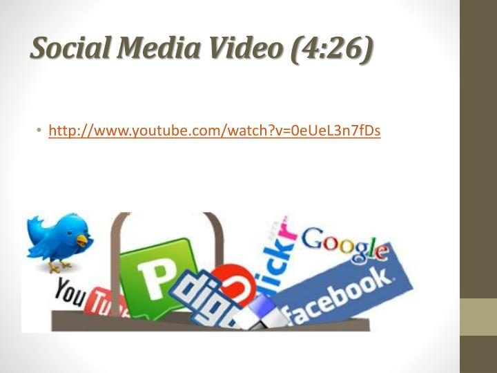 Social Media Video (4:26)