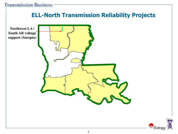 ELL-North Transmission Reliability Projects