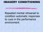 imagery conditioning
