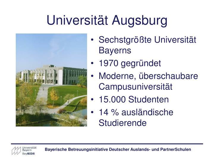 Universität Augsburg