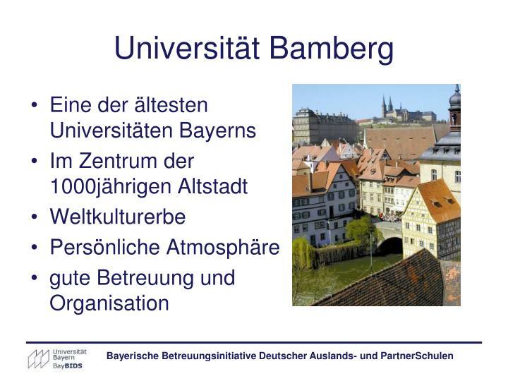 Universität Bamberg