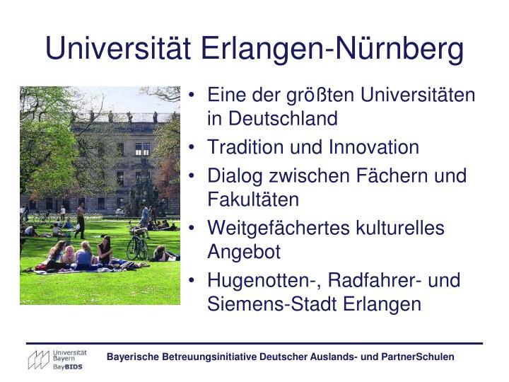 Universität Erlangen-Nürnberg