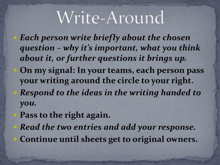 Write-Around