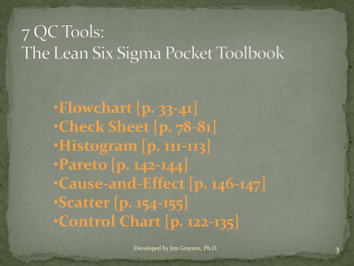 7 QC Tools: