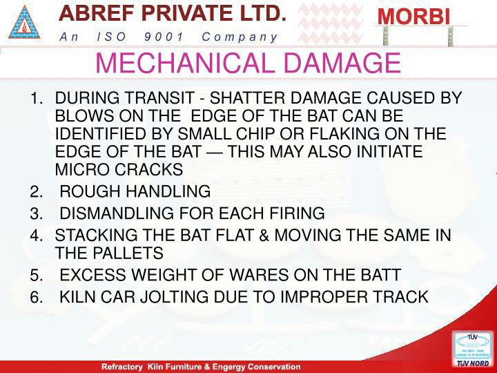 MECHANICAL DAMAGE