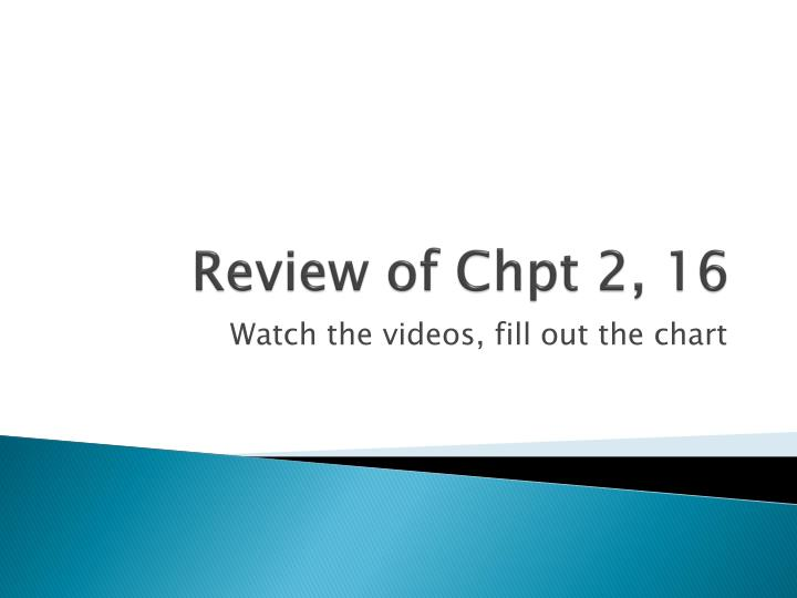 Review of chpt 2 16