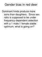gender bias in red deer1