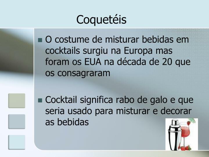Coquetéis