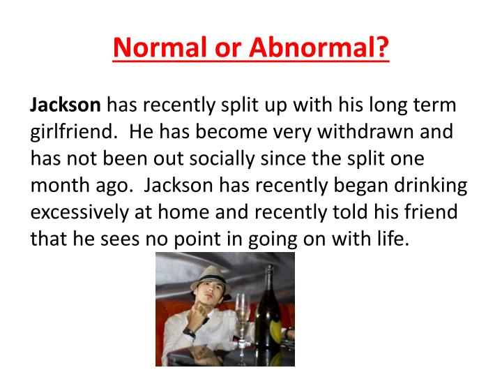 Normal or abnormal