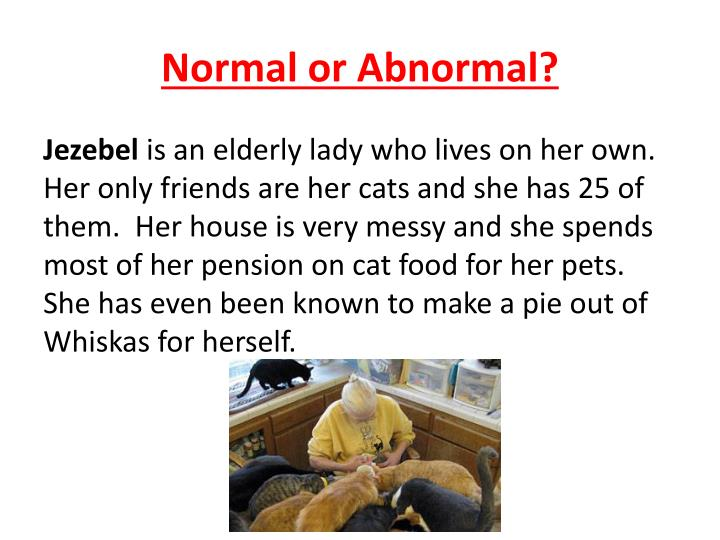 Normal or Abnormal?