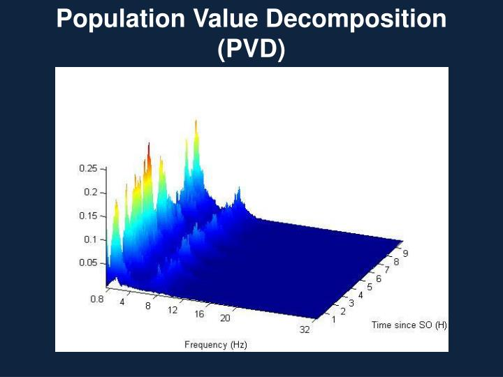 Population Value Decomposition (PVD)