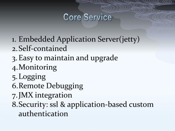 Core Service