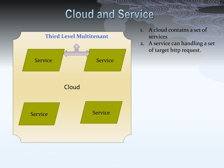 Cloud and Service