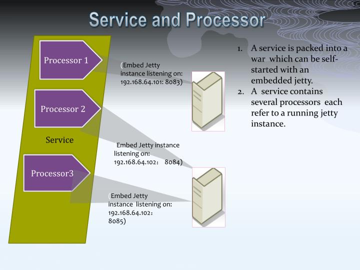Service and Processor