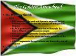 the golden arrowhead