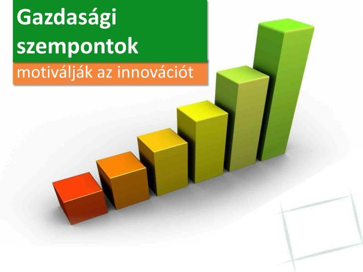 Gazdasági szempontok