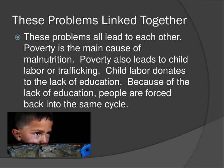 These Problems Linked Together