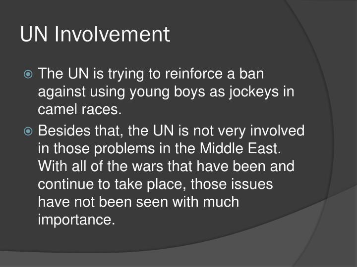 UN Involvement
