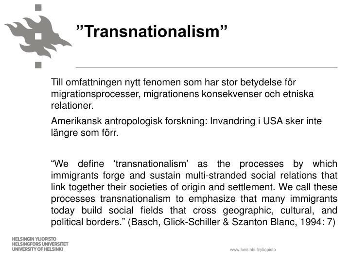 """Transnationalism"""