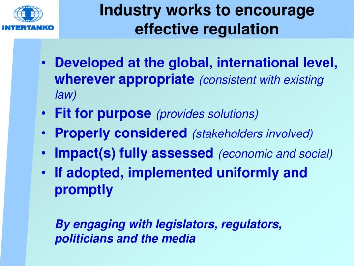 Industry works to encourage