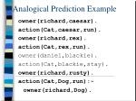 analogical prediction example1