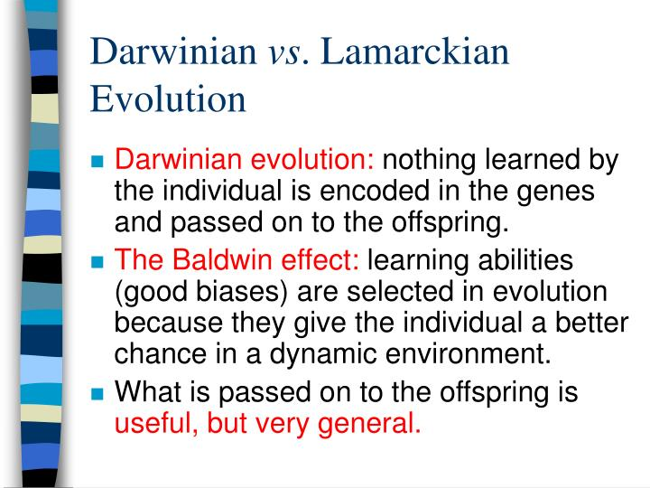 Darwinian