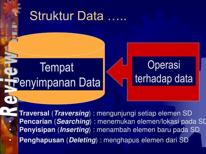 Operasi terhadap data