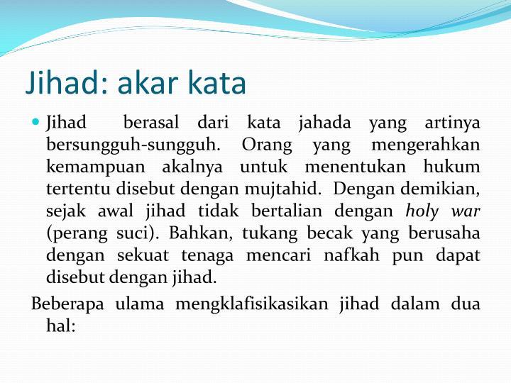 Jihad: