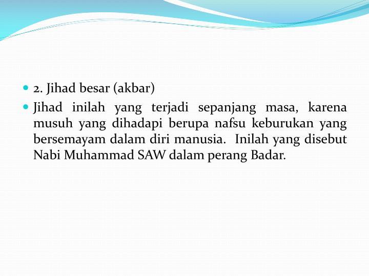 2. Jihad