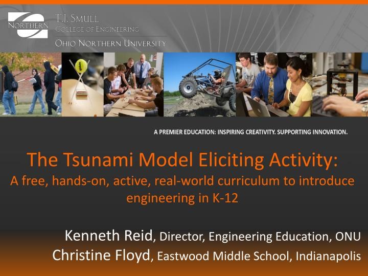 The Tsunami Model Eliciting Activity: